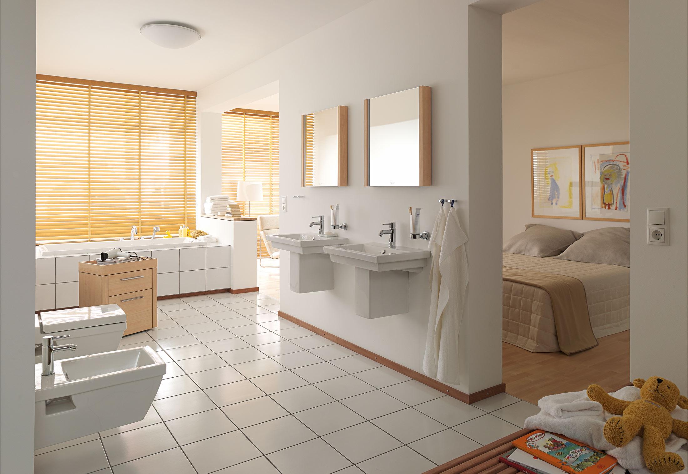 2nd floor washbasin by duravit stylepark - Paravent salle de bain ...