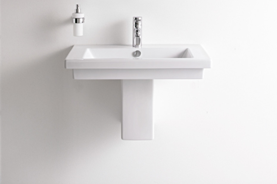 2nd floor washbasin by duravit stylepark. Black Bedroom Furniture Sets. Home Design Ideas