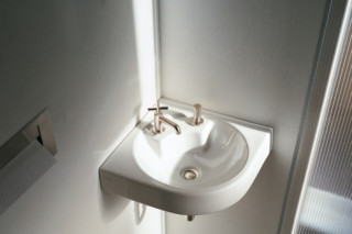 Architec  Washbasin corner  by  Duravit