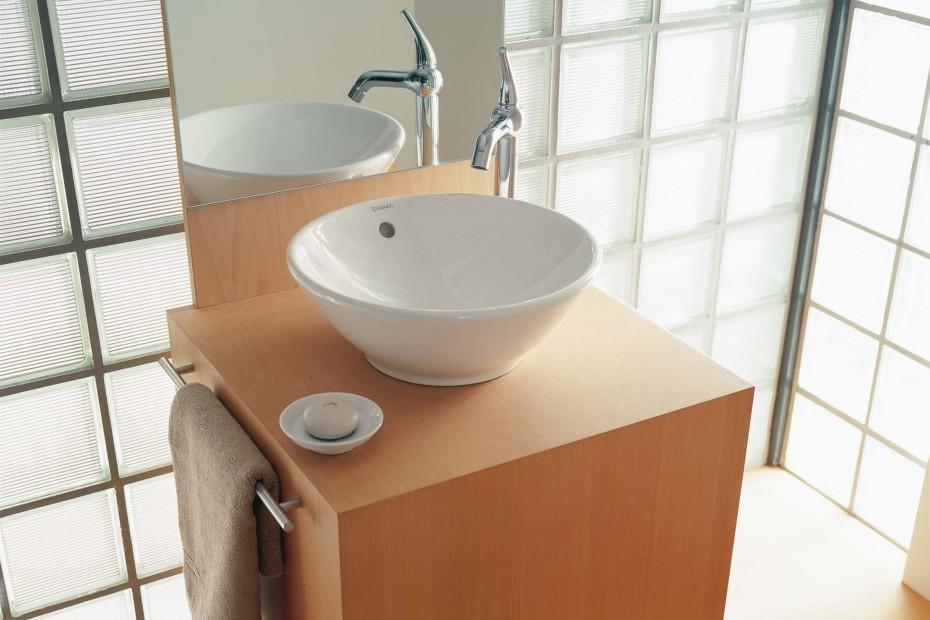 bacino aufsatzbecken round by duravit stylepark. Black Bedroom Furniture Sets. Home Design Ideas