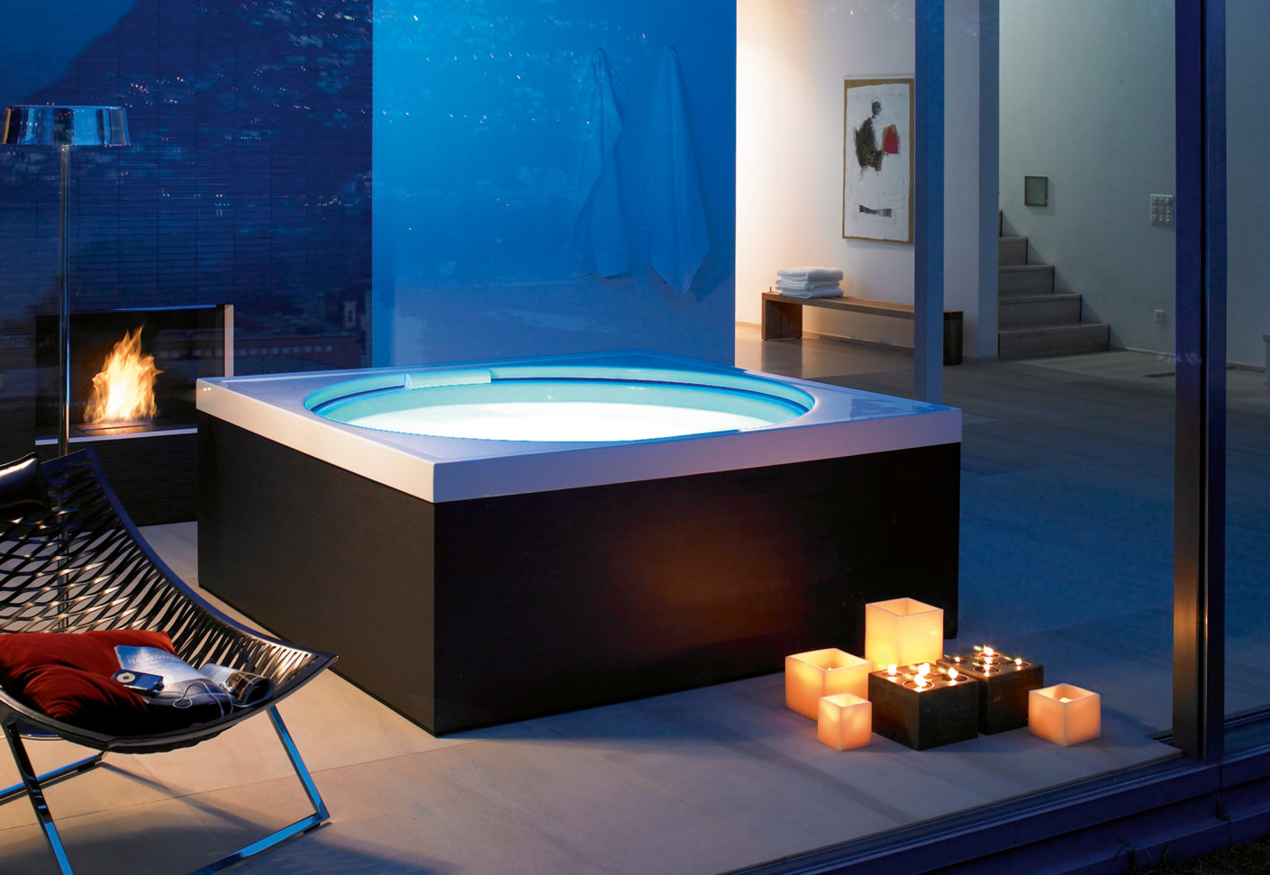 blue moon pool von duravit stylepark. Black Bedroom Furniture Sets. Home Design Ideas