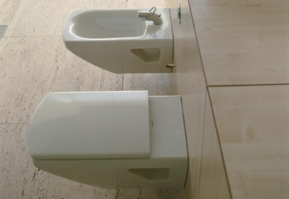 caro wand wc von duravit stylepark. Black Bedroom Furniture Sets. Home Design Ideas