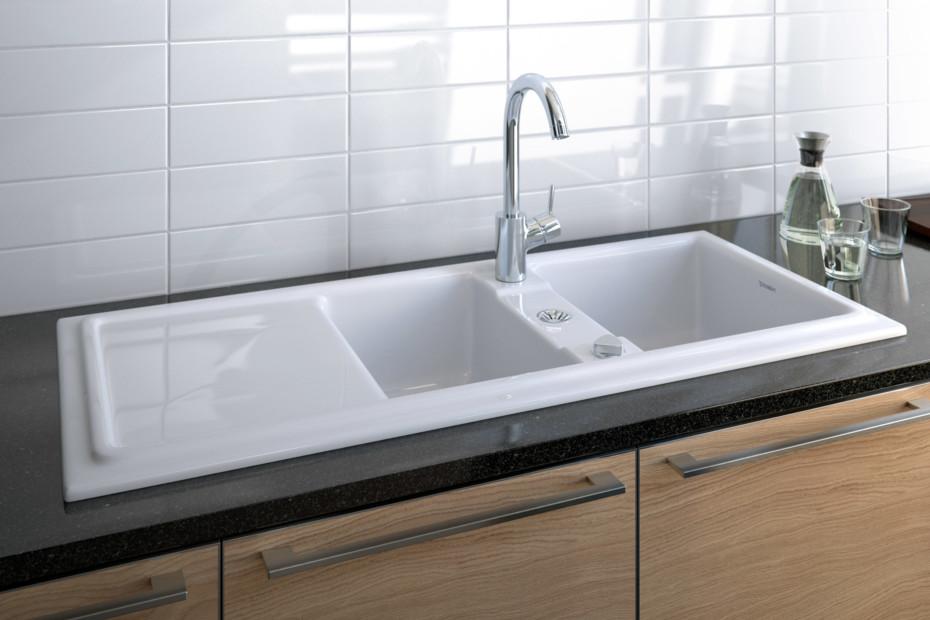 cassia kitchen sink by duravit stylepark