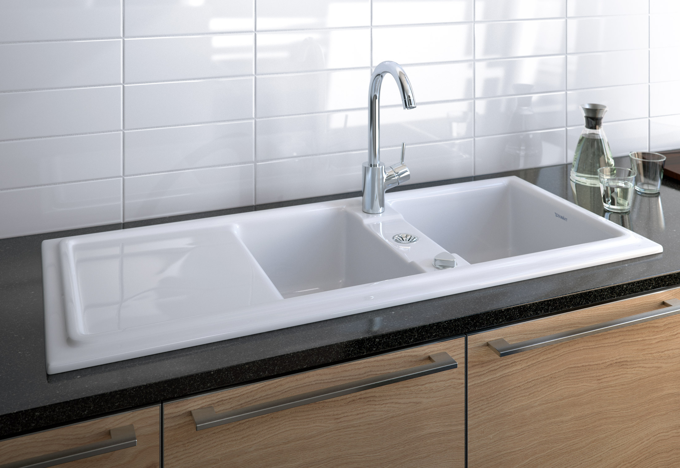 cassia kitchen sink by duravit stylepark rh stylepark com