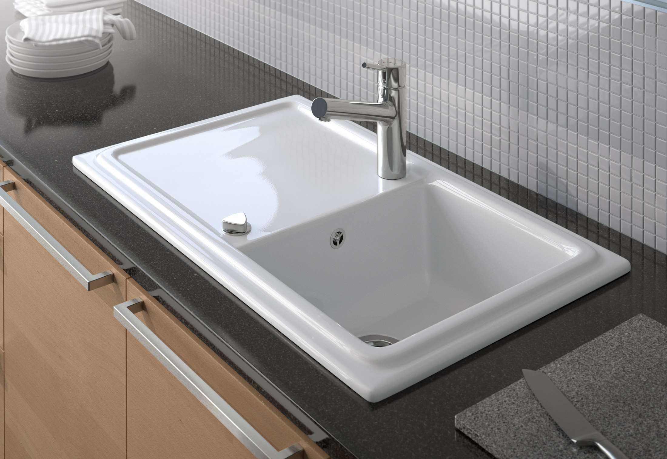 Cassia kitchen sink by duravit stylepark cassia kitchen sink workwithnaturefo