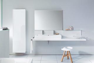 Waschtischkonsole mit Spiegel  von  Duravit