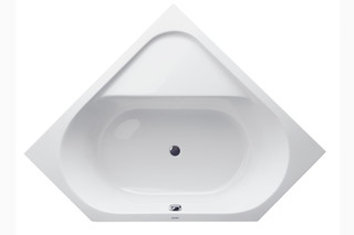 D-Code tub hexagon  by  Duravit