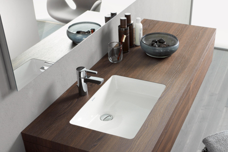 Duravit Ds6484 Durastyle 31 1 2 Wall Mount Single Bathroom Vanity With Two Drawers