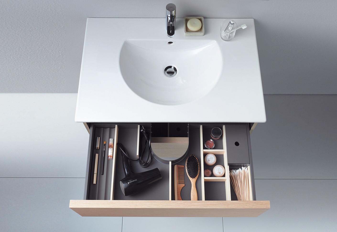 . Delos washbasin with cupboard by Duravit   STYLEPARK