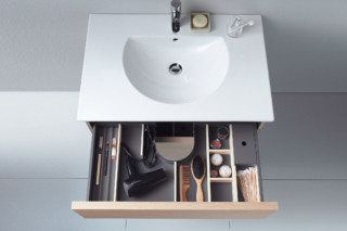Delos washbasin with cupboard  by  Duravit
