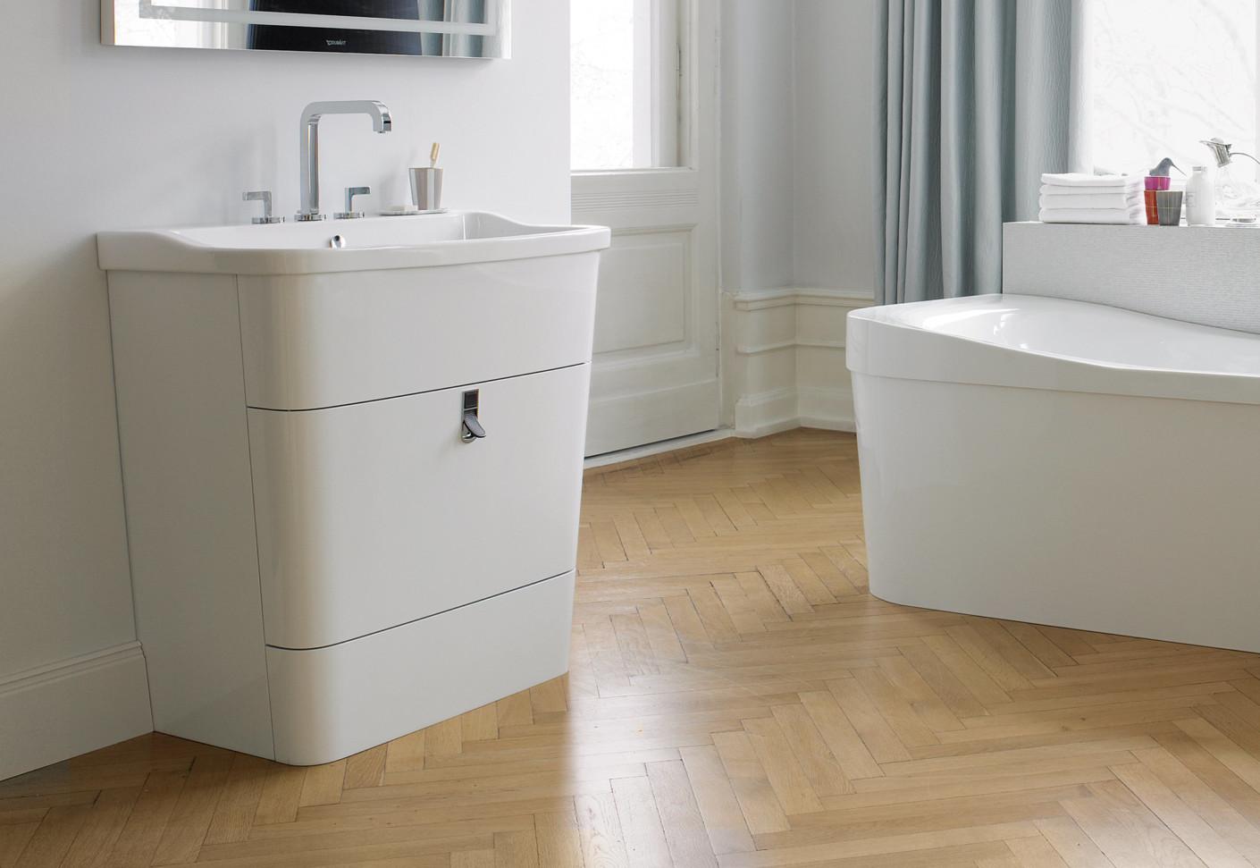 esplanade waschtisch klein von duravit stylepark. Black Bedroom Furniture Sets. Home Design Ideas
