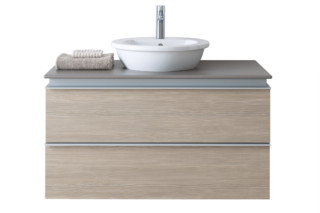 Everybody's darling washing table with base frame  by  Duravit