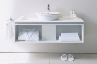 Everybody's darling washing table with rack  by  Duravit
