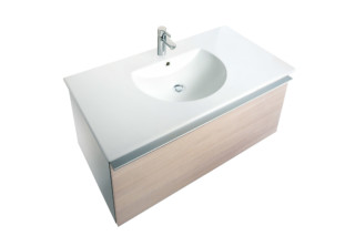 Everybody's darling washing table  by  Duravit