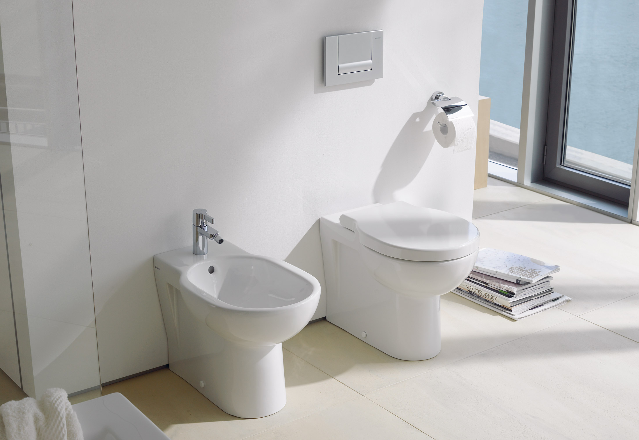 foster stand wc von duravit stylepark. Black Bedroom Furniture Sets. Home Design Ideas
