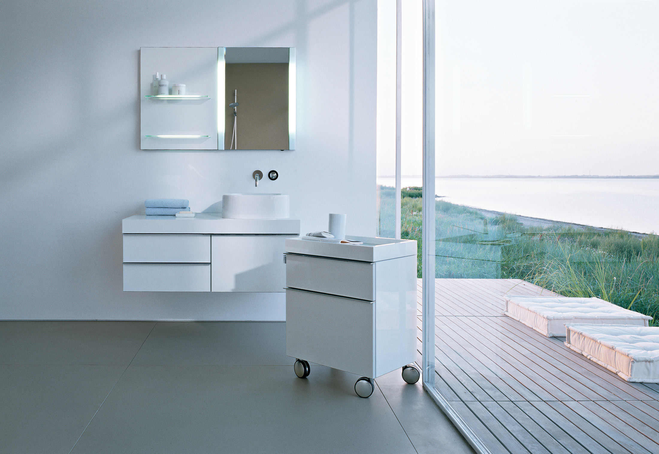 Rollcontainer Bad d rollcontainer duravit stylepark