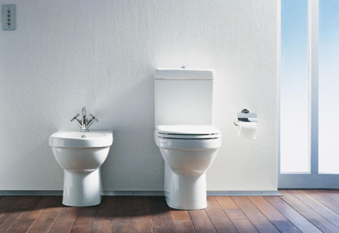 happy d. stand wc kombination von duravit | stylepark, Badezimmer ideen