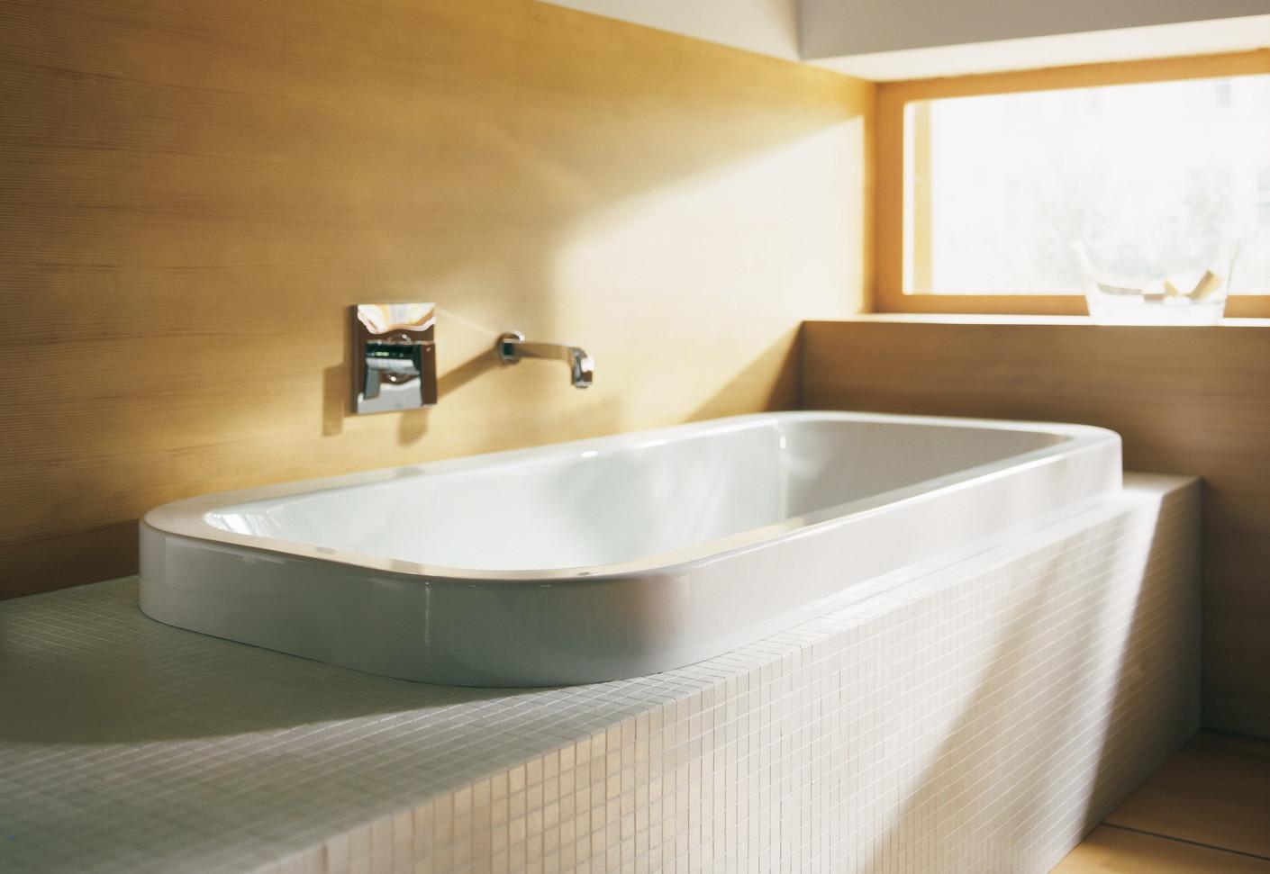 happy d. wanne aufbauversion von duravit | stylepark, Badezimmer ideen