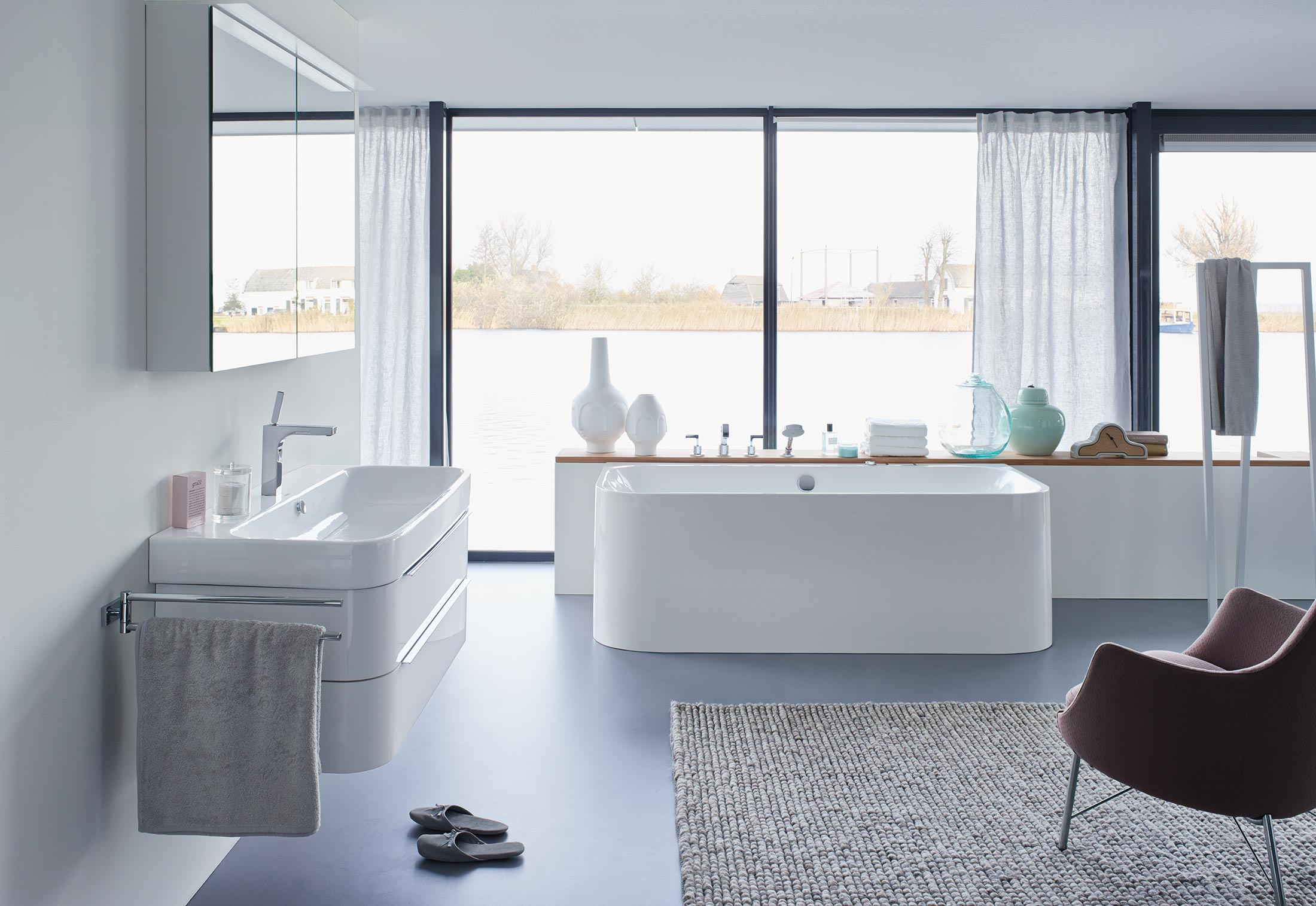 happy d. wanne vorwandversion von duravit | stylepark, Badezimmer ideen