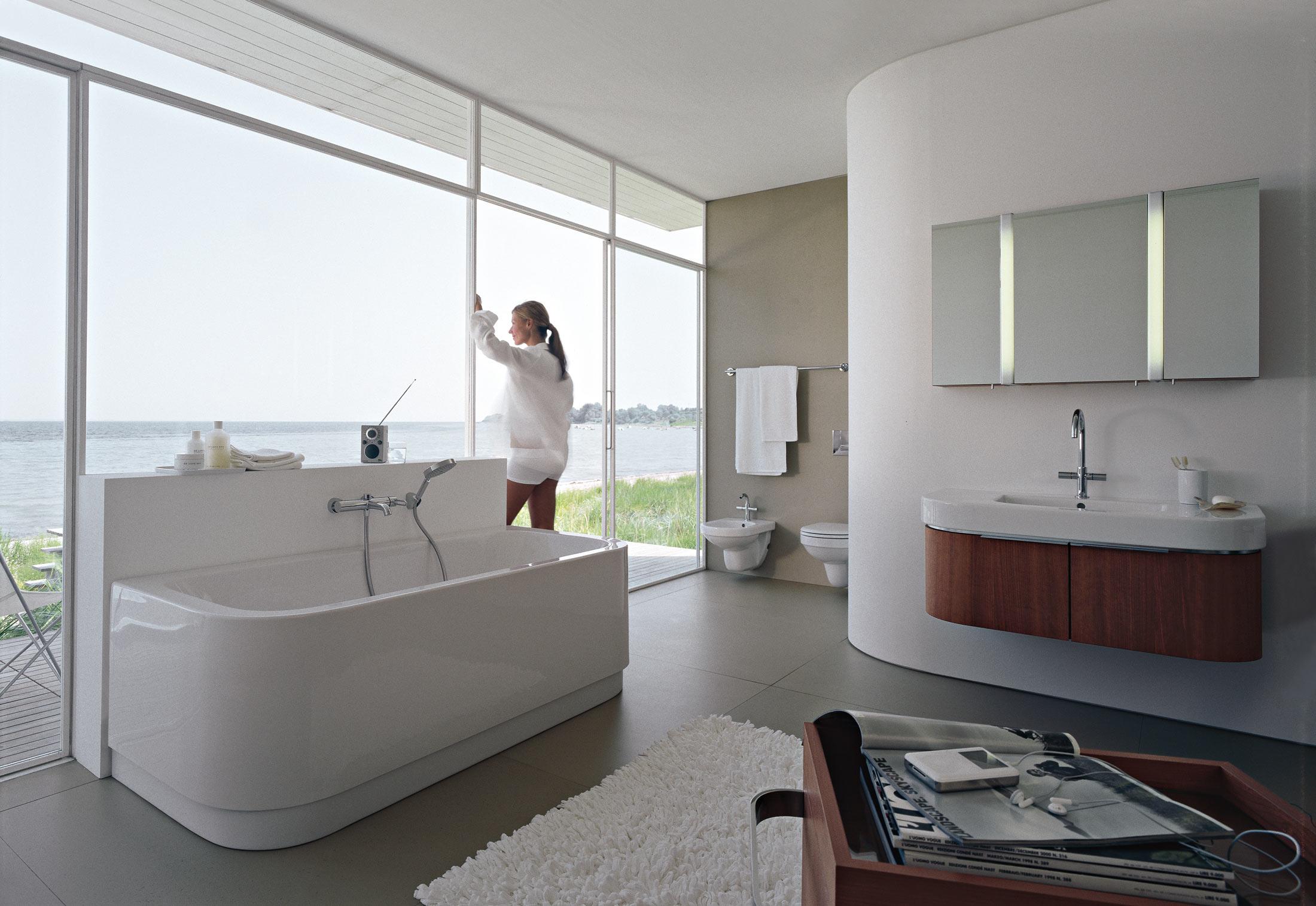 happy d. waschtischunterbau holz von duravit | stylepark, Badezimmer ideen