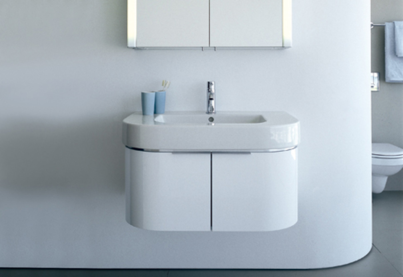 Uncategorized Duravit Happy D Sink happy d vanity unit by duravit stylepark