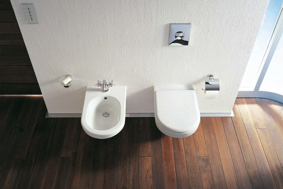 happy d wand wc von duravit stylepark. Black Bedroom Furniture Sets. Home Design Ideas