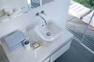 Happy D. Wash bowl grinded  by  Duravit