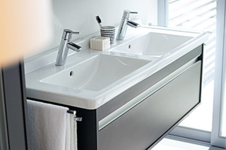 Ketho double washbasins  by  Duravit
