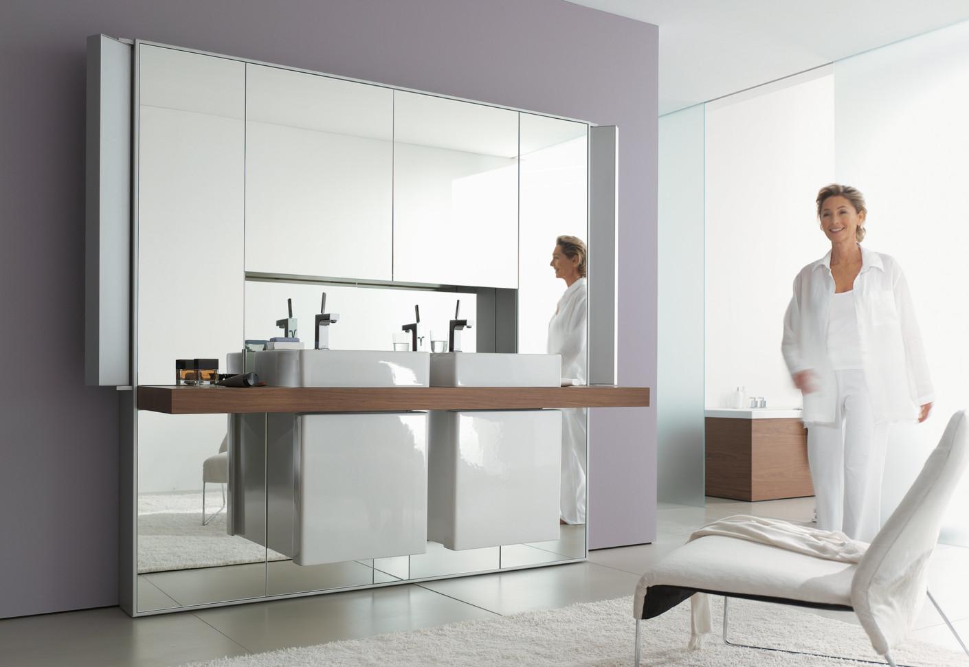 mirrorwall doppell sung von duravit stylepark. Black Bedroom Furniture Sets. Home Design Ideas