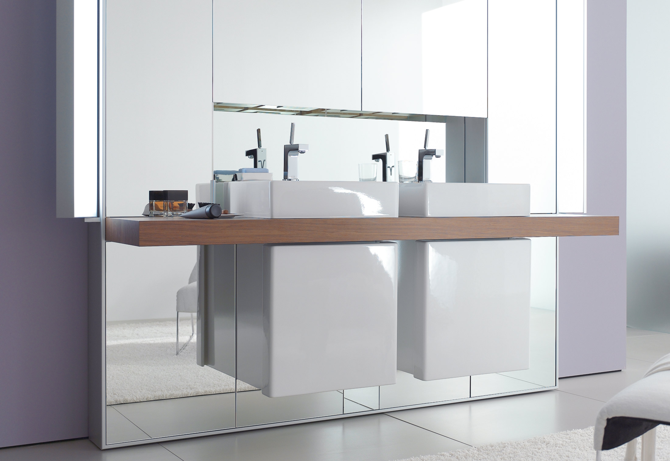 Mirrorwall Double By Duravit Stylepark