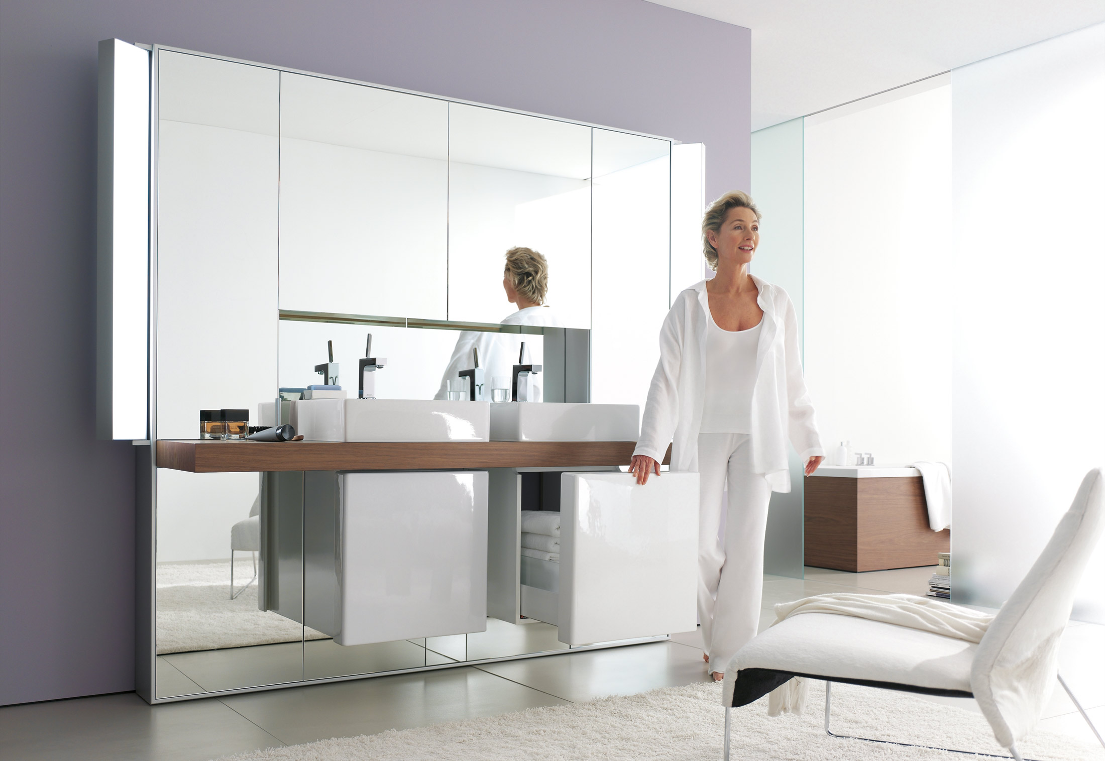 Mirrorwall double by Duravit | STYLEPARK