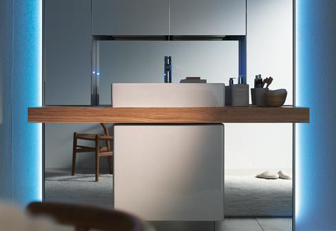 mirrorwall singular by duravit stylepark. Black Bedroom Furniture Sets. Home Design Ideas