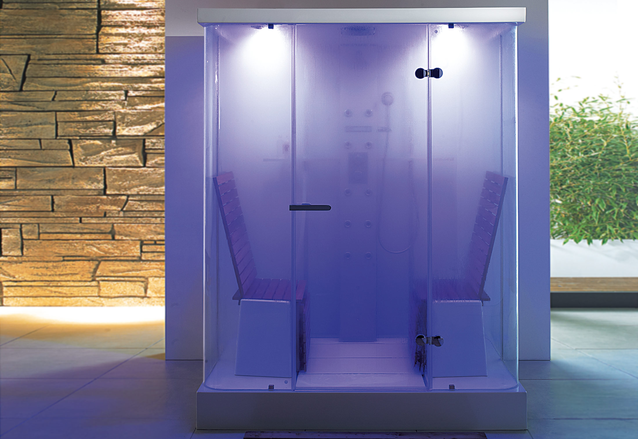 Multi-functional shower by Duravit | STYLEPARK
