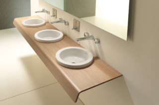 Onto multiple washing table  by  Duravit