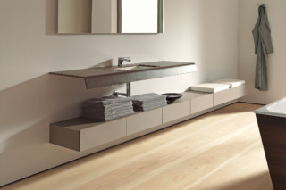 Onto washing table  by  Duravit