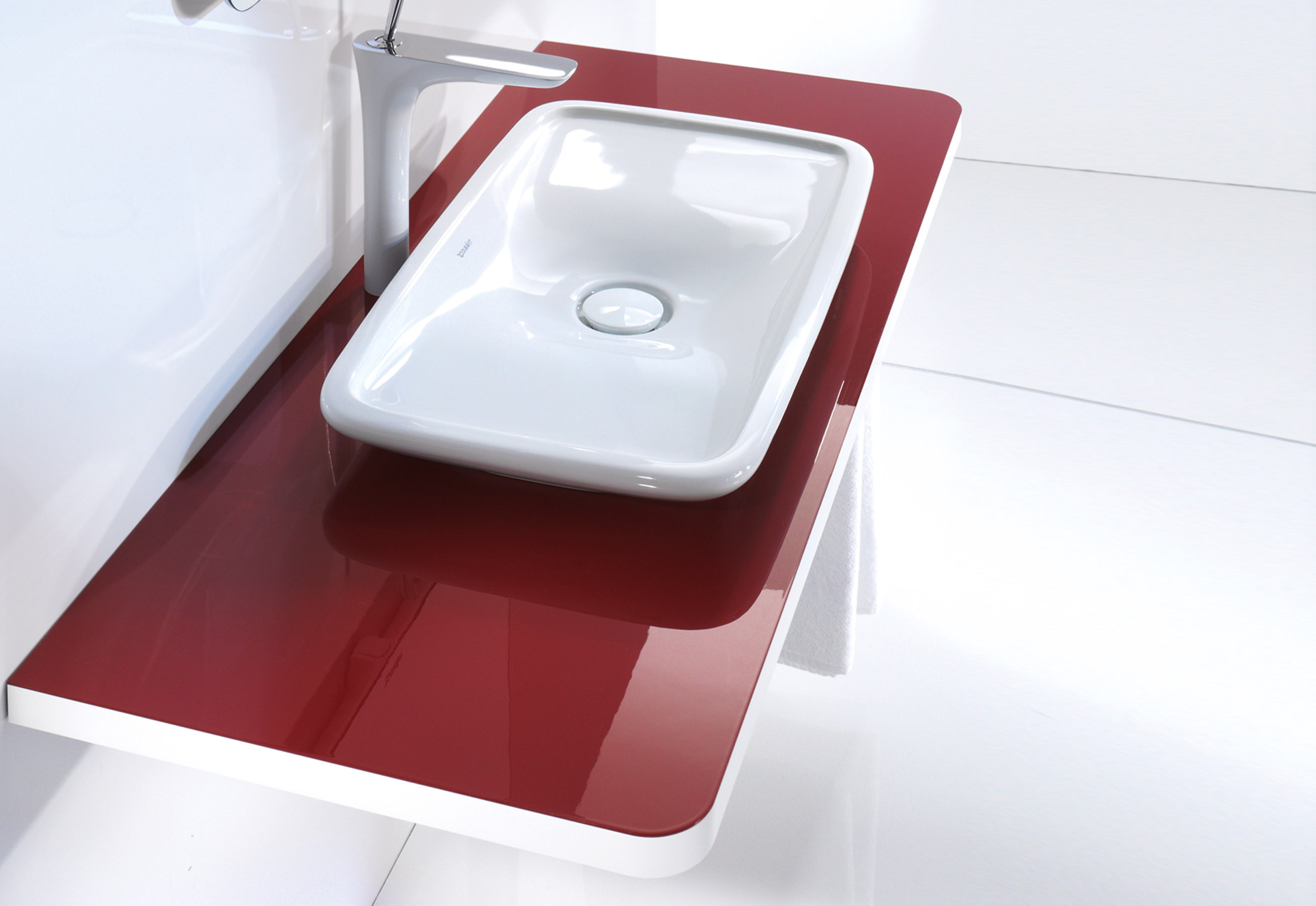 puravida washbasin by duravit stylepark. Black Bedroom Furniture Sets. Home Design Ideas