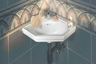 Serie 1930 Handrise basin corner  by  Duravit