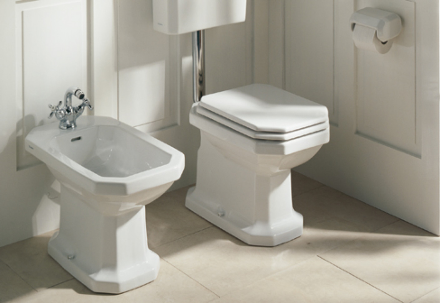 serie 1930 stand bidet by duravit stylepark. Black Bedroom Furniture Sets. Home Design Ideas