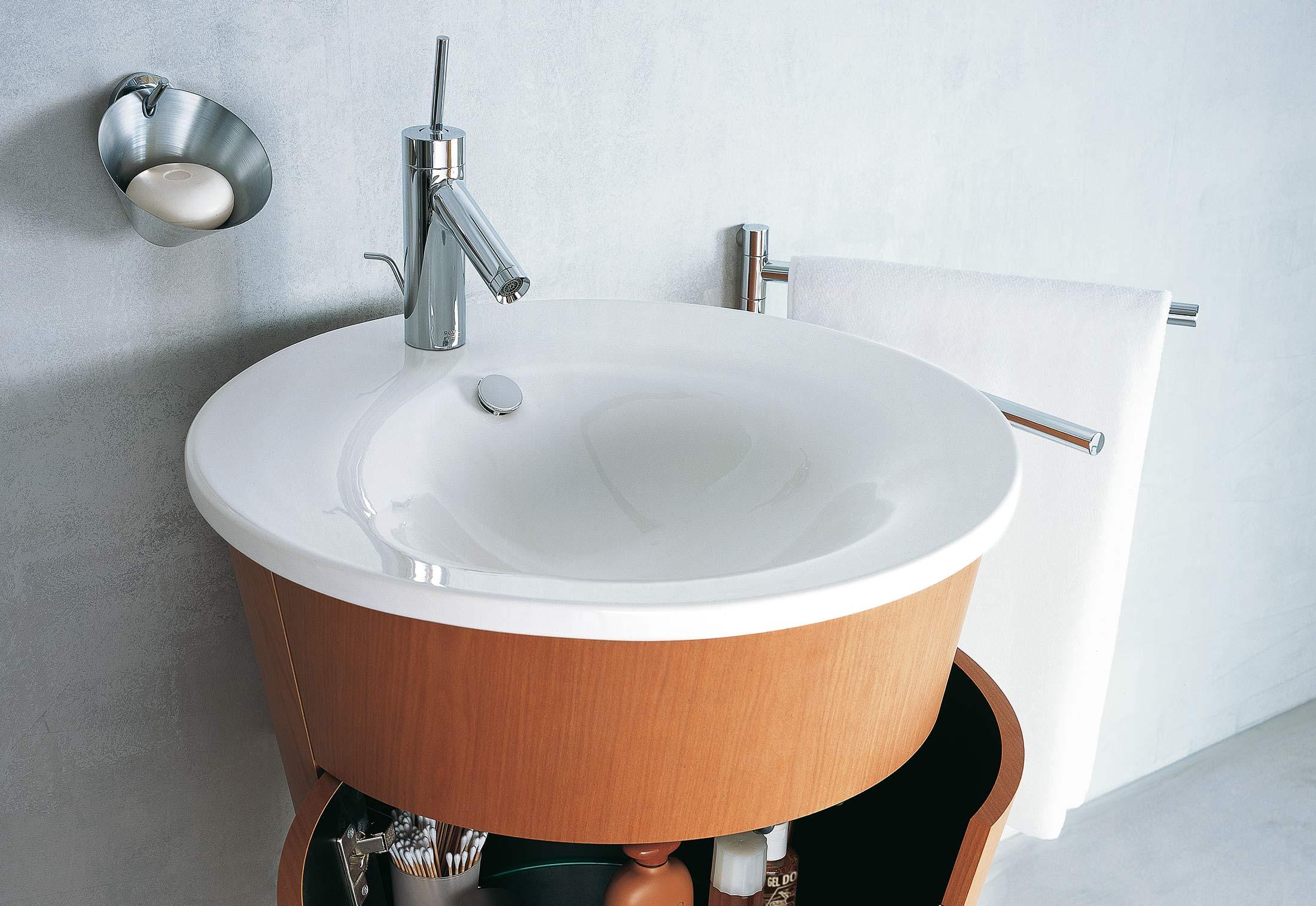 starck 1 console basin by duravit stylepark. Black Bedroom Furniture Sets. Home Design Ideas
