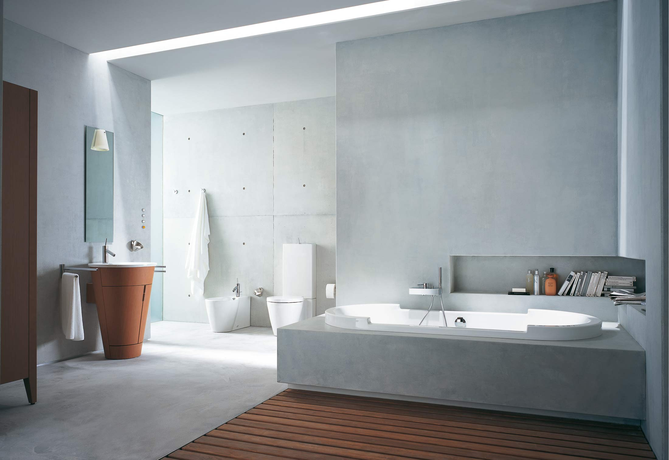 Starck 1 Furniture washbasin by Duravit | STYLEPARK