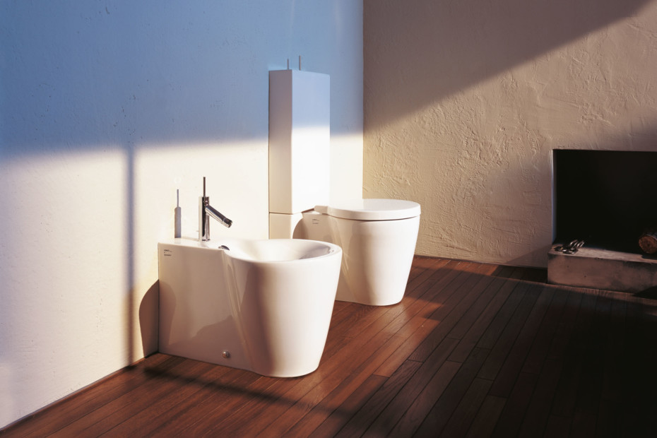 Starck 1 Stand WC combination