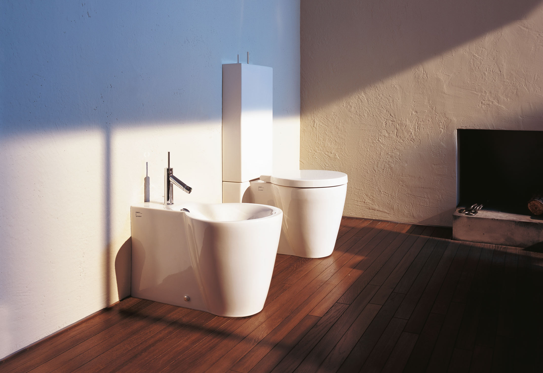 Starck 1 Stand WC combination by Duravit | STYLEPARK