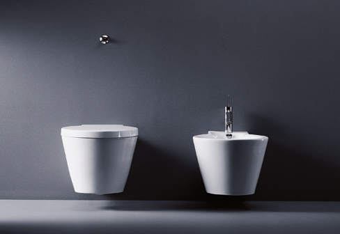 starck 1 wall wc by duravit stylepark. Black Bedroom Furniture Sets. Home Design Ideas