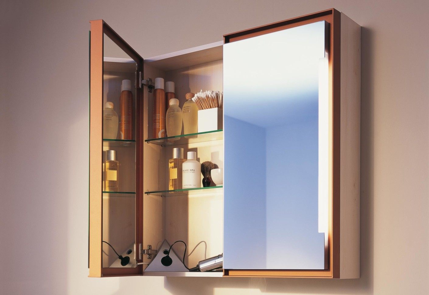 starck 1 2 3 spiegelschrank von duravit stylepark. Black Bedroom Furniture Sets. Home Design Ideas