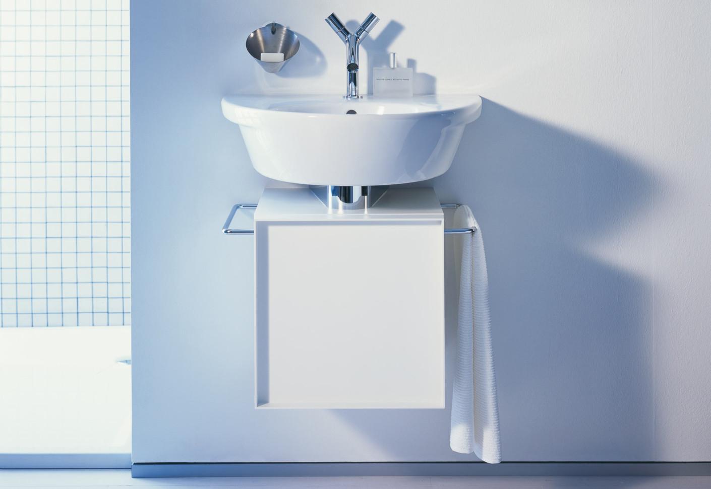 starck 1 2 3 waschtischunterbau klein von duravit stylepark. Black Bedroom Furniture Sets. Home Design Ideas