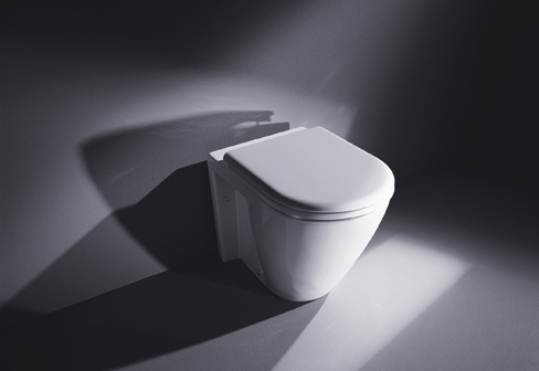 starck 2 stand wc by duravit stylepark. Black Bedroom Furniture Sets. Home Design Ideas