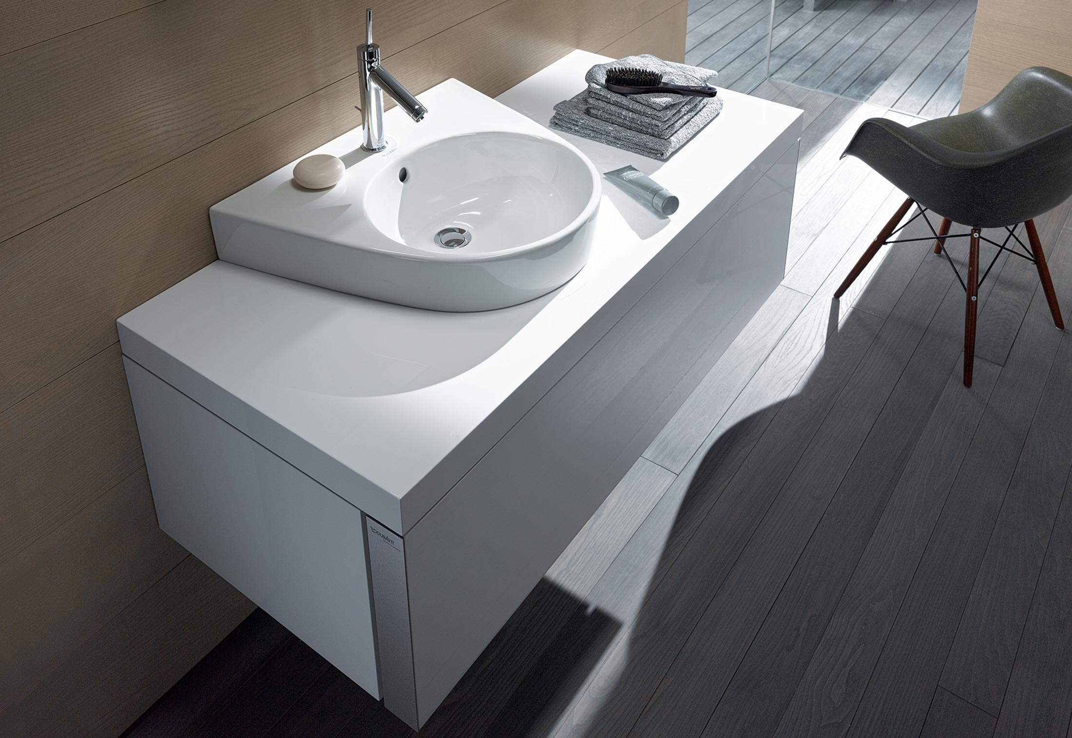 starck 2 washbasin by duravit stylepark. Black Bedroom Furniture Sets. Home Design Ideas