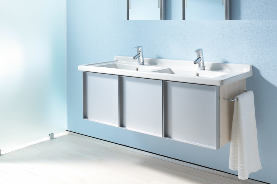starck 3 doppelwaschtisch by duravit stylepark. Black Bedroom Furniture Sets. Home Design Ideas