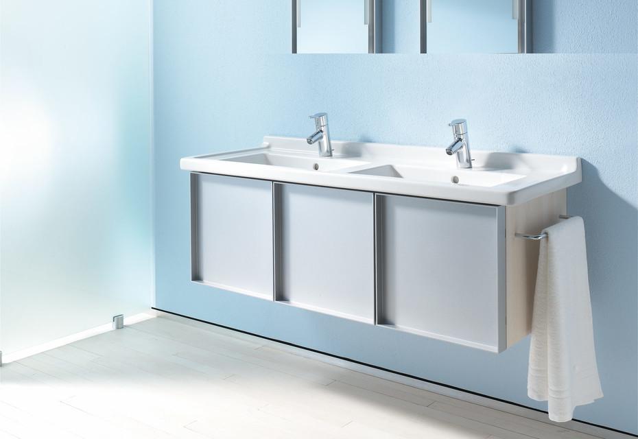 Starck 3 double washbasin