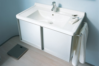 Starck 3 furniture washbasin  by  Duravit